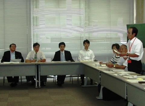豊中市議会空港特別委国交省要望