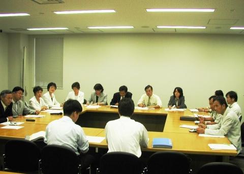 党奈良県委員会政府交渉