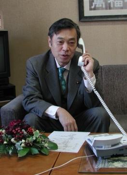 KBS京都電話インタビュー