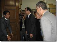 安倍首相表敬訪問