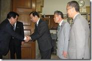 野田前首相表敬挨拶