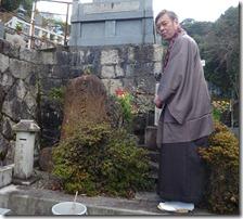 2013谷善のお墓を詣でる