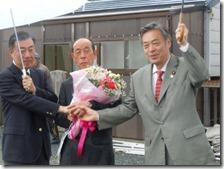 井尻南丹市長候補。梶川氏と