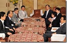 野党国対委員長会談130610