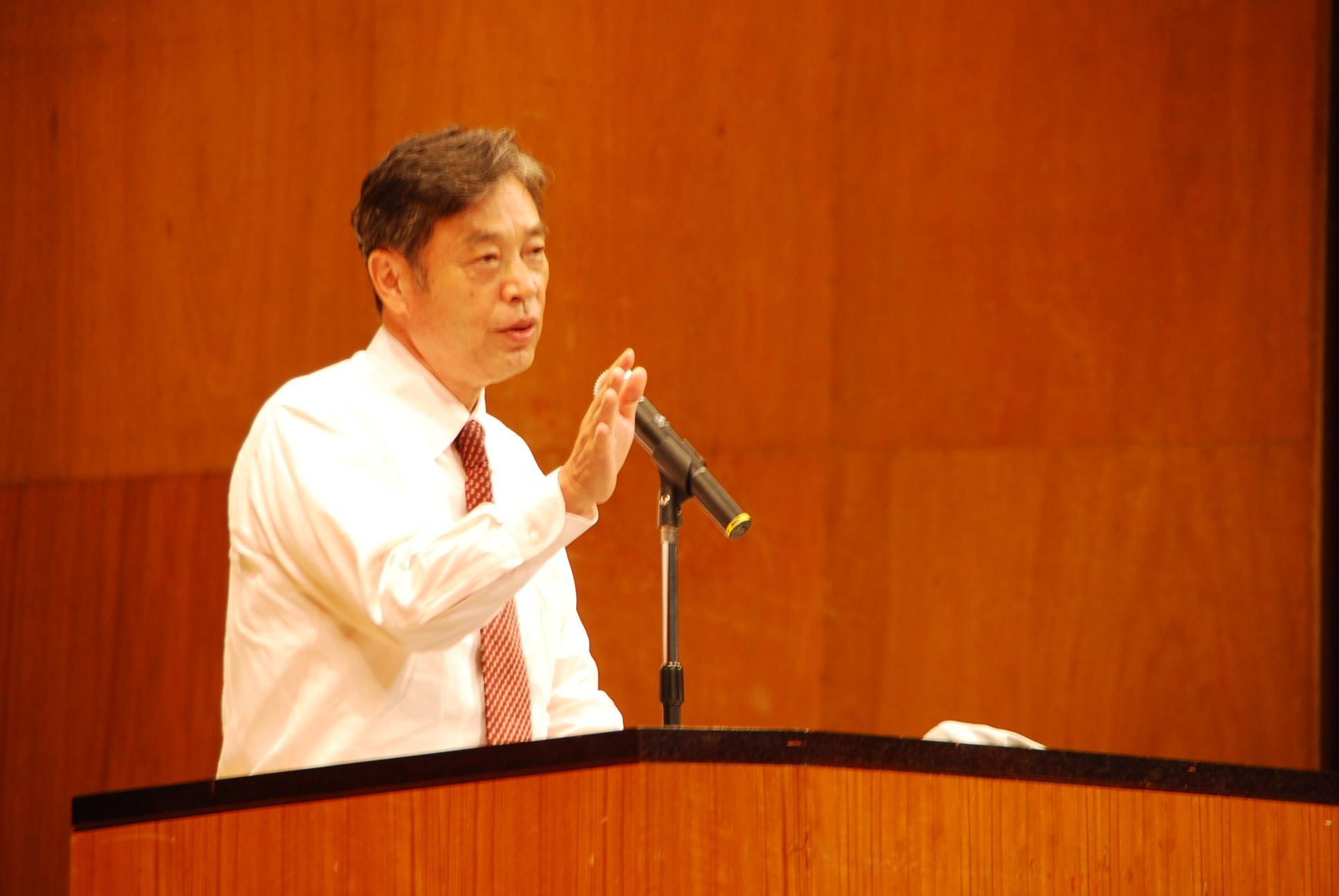 岩手県陸前高田市で講演会