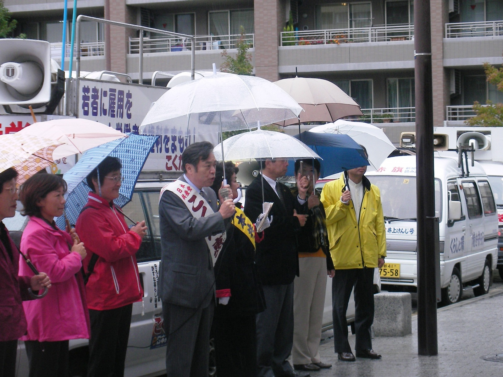 京都一区街宣車大集合