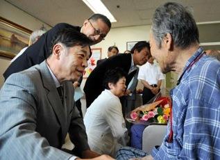 広島原爆養護ホーム訪問