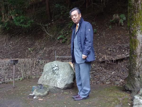 谷崎潤一郎墓使用