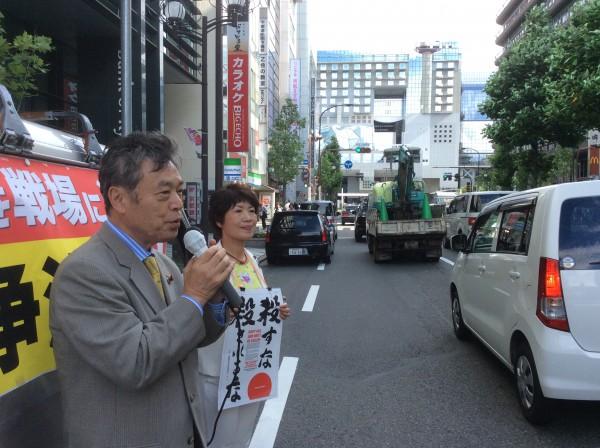 京都駅前宣伝