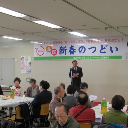 憲法市政みらいネット共同代表 梶川憲さん