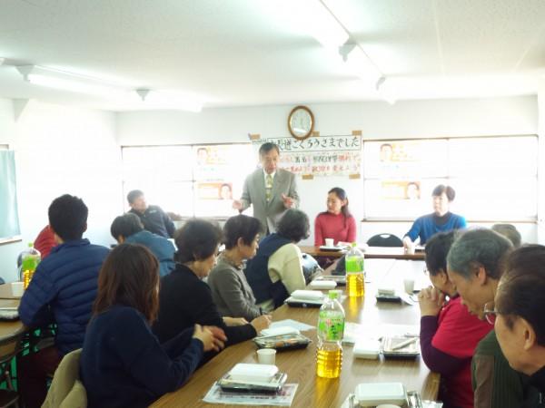 私の右隣は森田ゆみ子市会議員、その右山内佳子府会議員