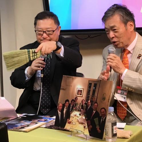 ニコニコ超会議角谷さんと対談