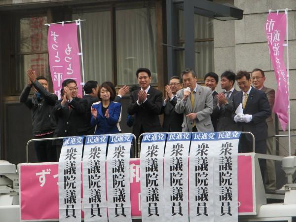 札幌駅前宣伝