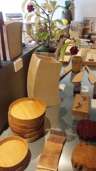 木工品種類多数