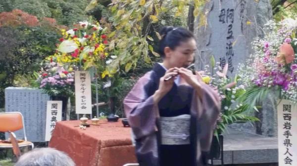 清水寺慰霊の笛