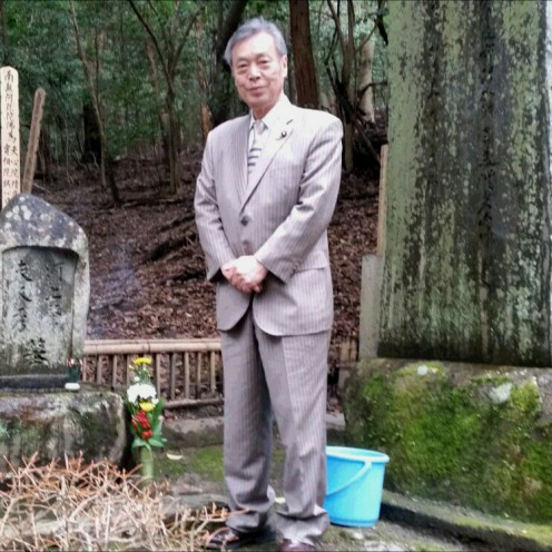 河上肇氏の墓