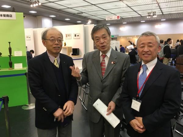 田中理事長と若林さん