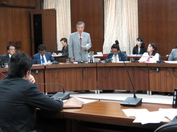 14日、外務委にて「徴用工」問題で質問 | こくた恵二site