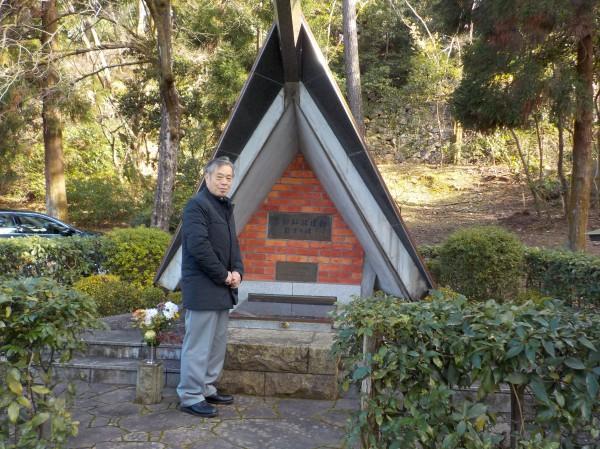解放戦士の墓 墓参2