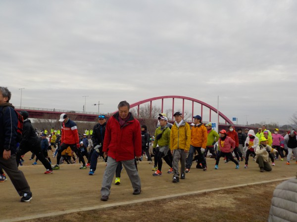 木津川マラソン ラジオ体操