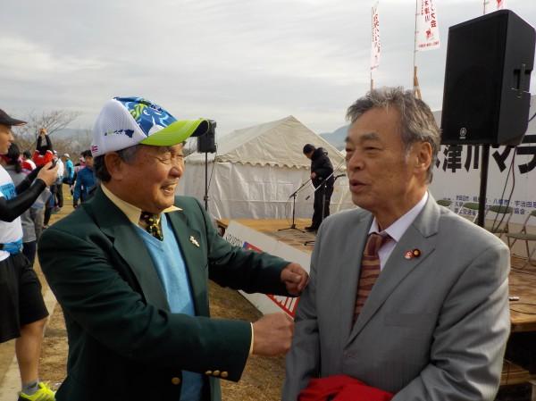 木津川マラソン 高石さんと