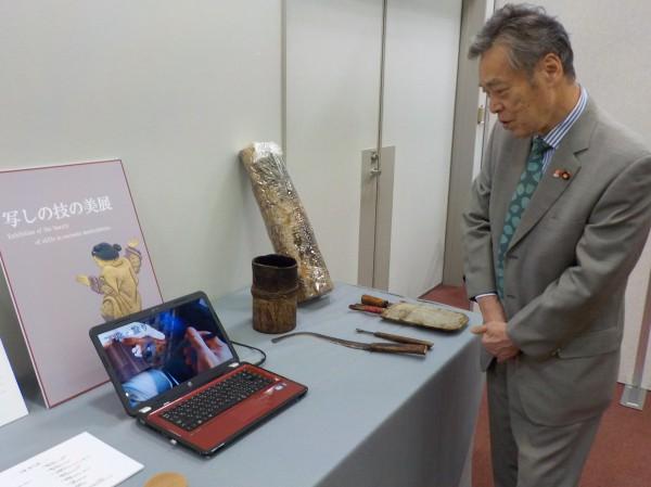 京漆器 50周年展示