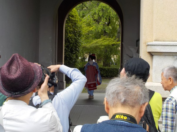 舞妓 トンネル