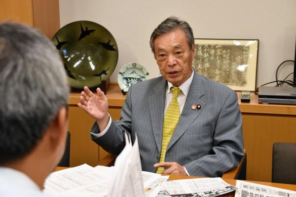 2019.07.30 東京新聞インタビュー1