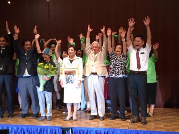 2019参院選滋賀選挙区 嘉田由紀子