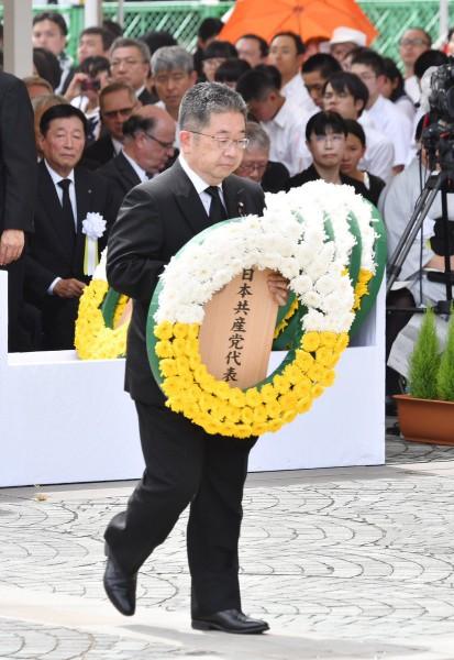 2019 長崎 小池献花