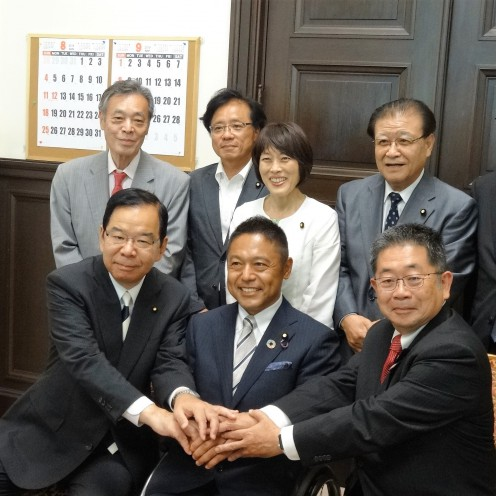 DSC00239 横沢さん表敬訪問