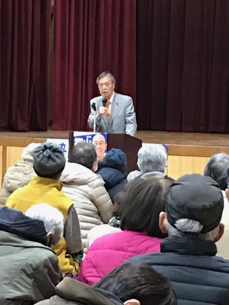 20200127 京都市長選個人演説会 吉祥院小