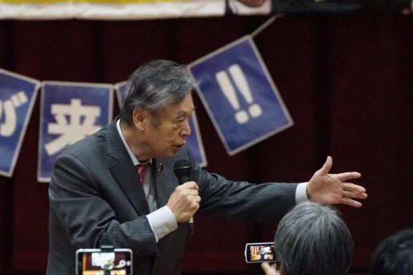 20200129 京都市長選 個人演説会(梅小路)③